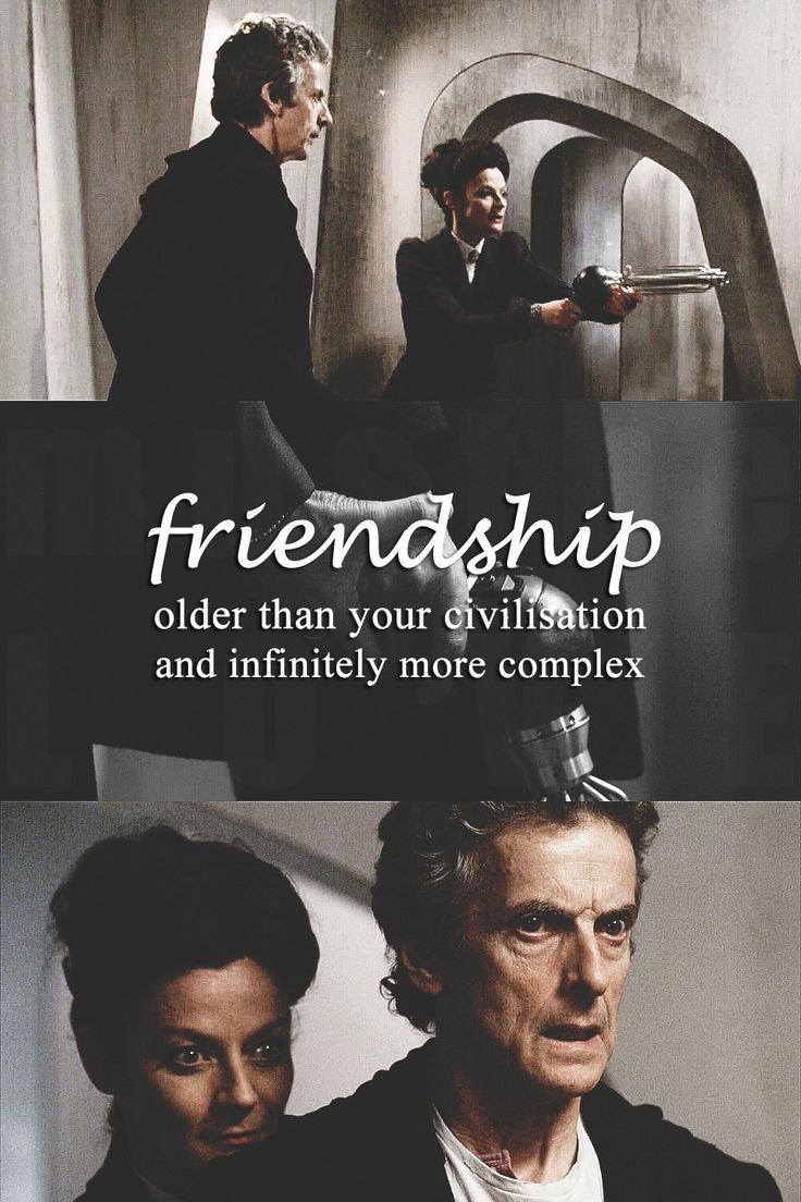 """""""Oh, don't be disgusting. We're Time Lords, not animals! Try, nano-brain, to rise above the reproductive frenzy of your noisy little food chain, and contemplate friendship""""."""