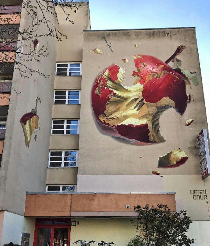 Street Art by Wes21 u0026 Onur located