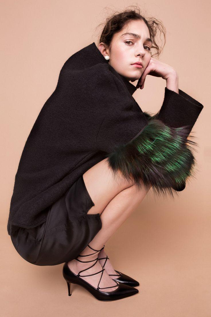 Holly Golightly Copenhagen - Pre SS16 Campaign / Photo: Trine Hisdal / Styling: Julie Svendal / Coreographer: Tone Reumert / Make-up: Pernille holm / Model: Madeleine - Scoop Models / SAKS POTTS / GIANVITO ROSSI / RICK OWENS