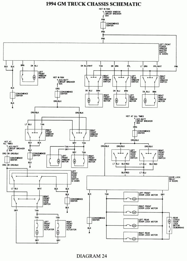 1993 gmc sierra wiring diagram 1993 chevrolet wiring diagram wiring diagram data  1993 chevrolet wiring diagram wiring