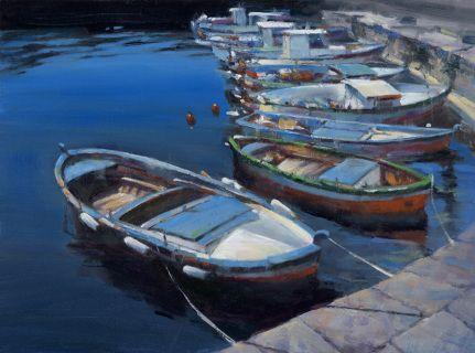 Sicilian Fishing Boats