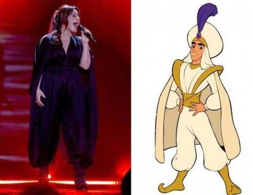 Eurovision's Worst Dressed: Trijntje Oosterhuis wins the Barbara Dex Award 2015