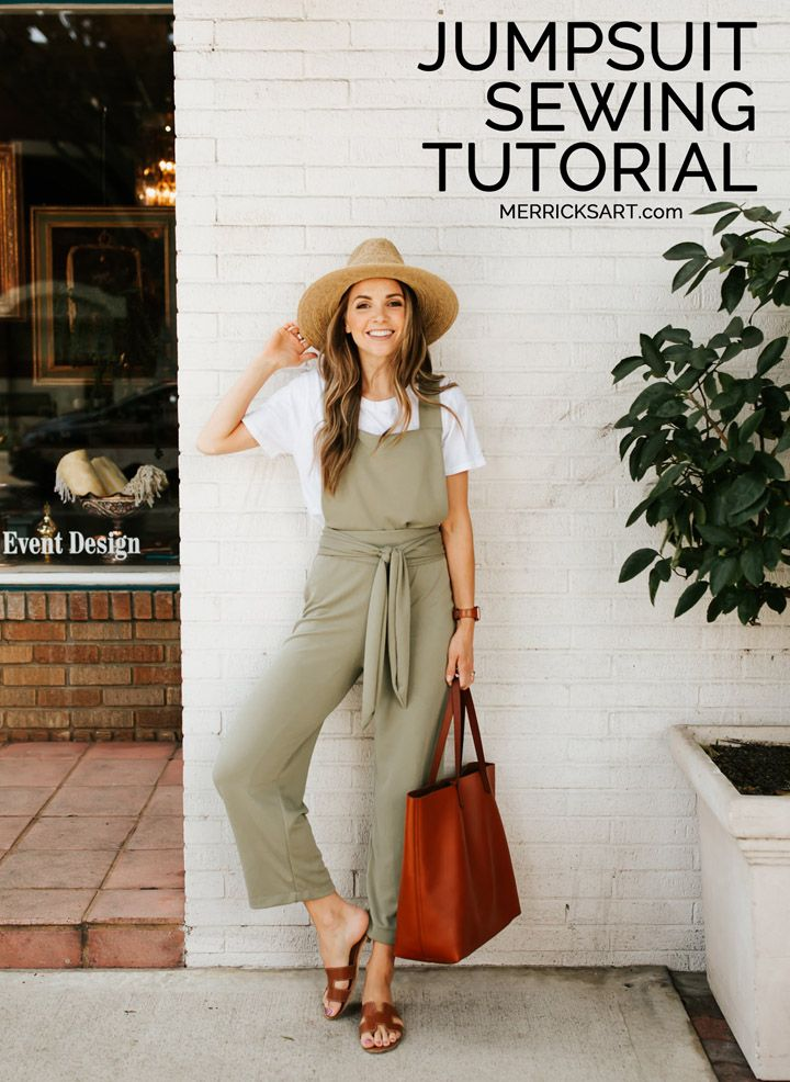 How to Make a Summer Jumpsuit (Intermediate Sewing Tutorial)