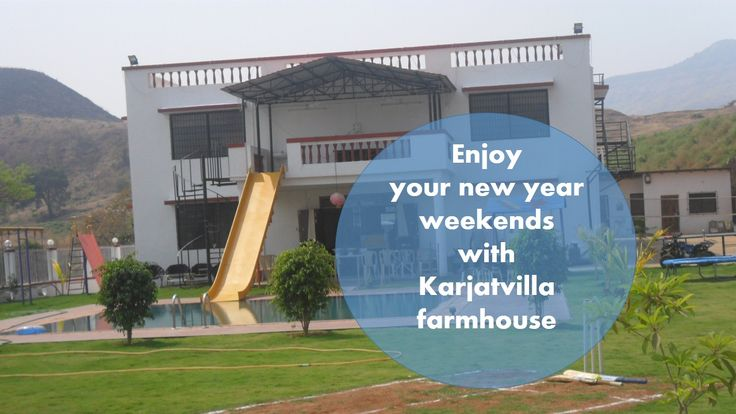 Enjoy your #newyear #weekends at karjatvilla farmhouse... #travel #happy