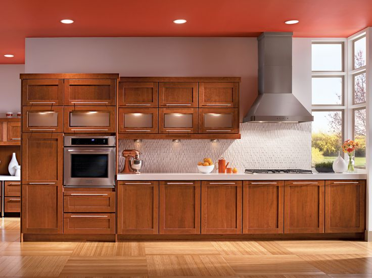 53 best ideas about cabinet kraftmaid on pinterest for Cinnamon cherry kitchen cabinets
