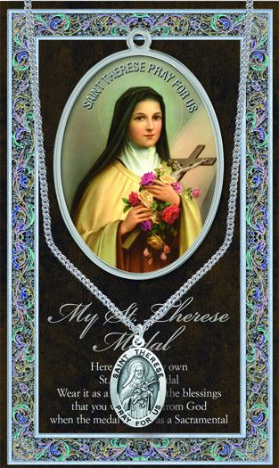 St.therese Medal Picture Folder by Hirten | Catholic Shopping .com