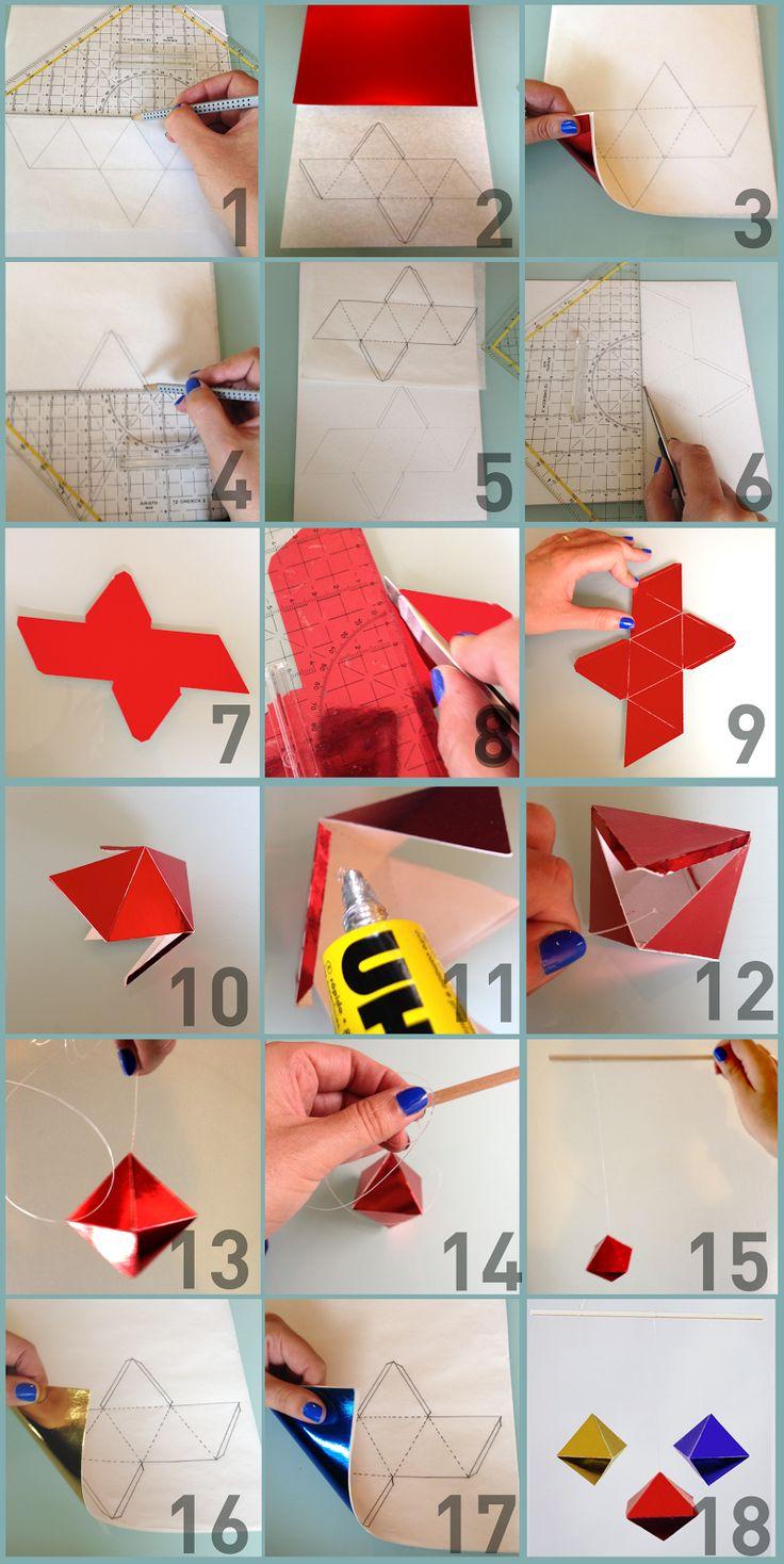 MATERIAL NECESSÁRIO 3 cartolinas A4 metalizadas de cor vermelha, amarela e azul. 1 folha de papel vegetal 1 ...