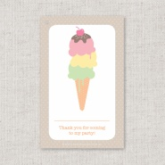 Paper Candy Strawberry Stack Tags (10)