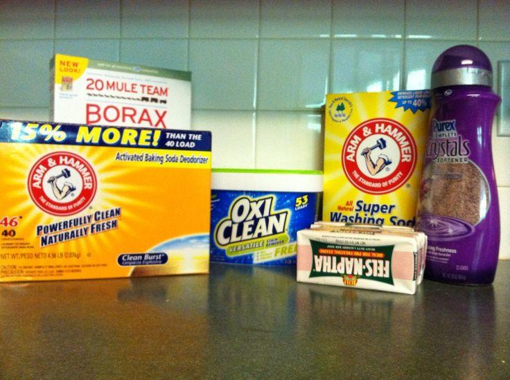 How sweet it is: DIY Laundry Soap
