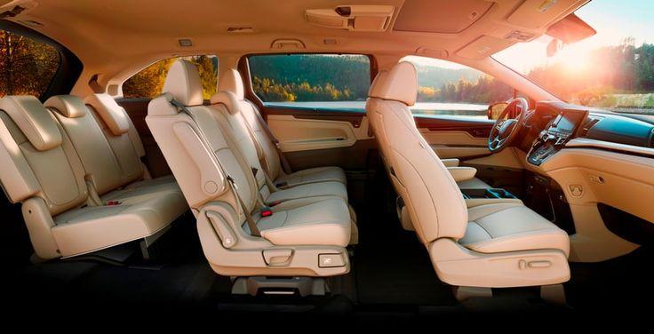 The 2018 Honda Odyssey boasts three rows of seats