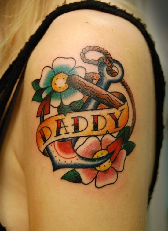 17 best images about dad tattoo designs on pinterest dad for Daddys little girl tattoos