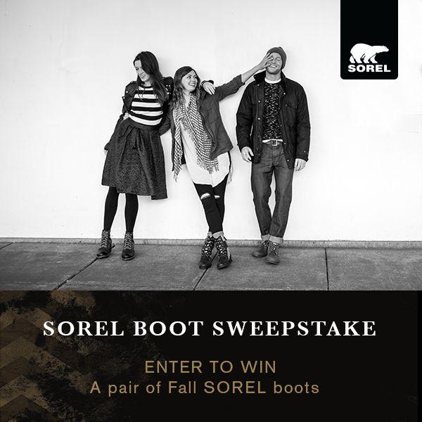 SOREL Boot Sweepstakes