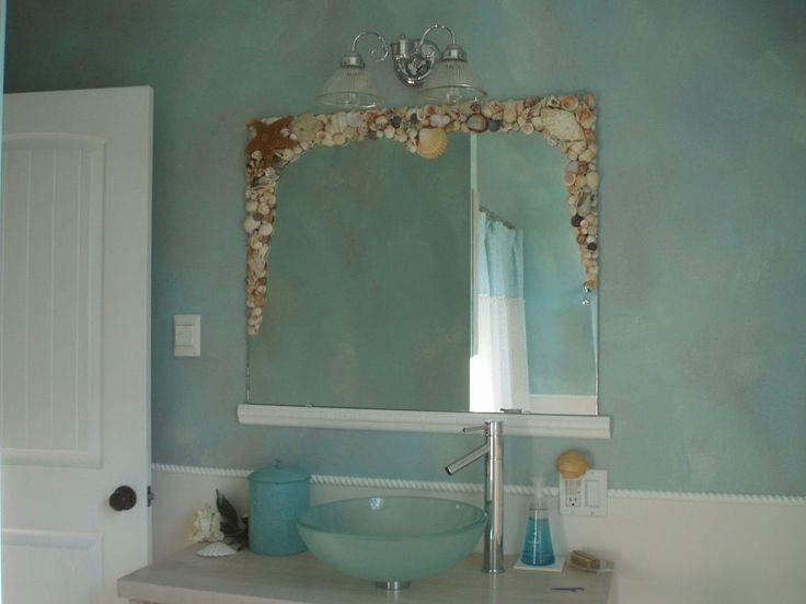 15 Inspirations Large Frameless Bathroom Mirror: Best 10+ Bathroom Mirror Redo Ideas On Pinterest