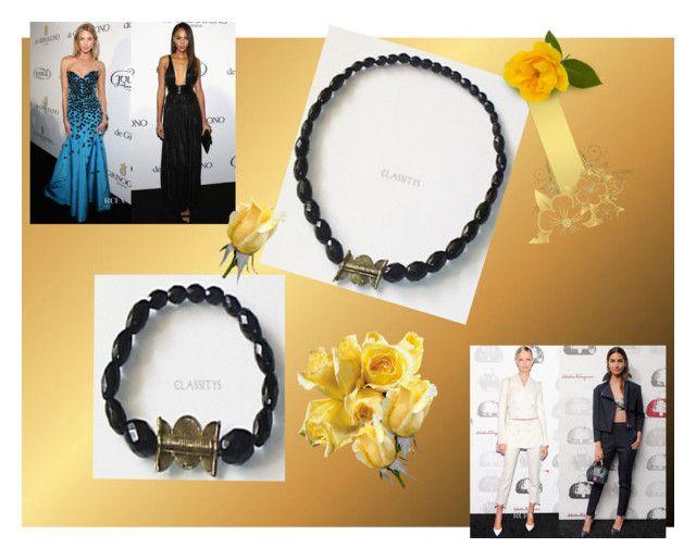 Onyx and Bronze by classitys on Polyvore featuring moda and de Grisogono  www.classitysjewel.com