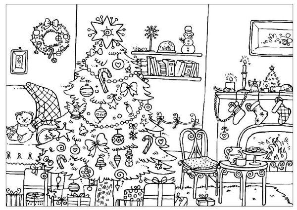 Advanced Christmas Tree Coloring Pages Free Christmas Coloring Pages Printable Christmas Coloring Pages Christmas Tree Coloring Page