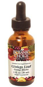 Botanic Choice Liquid Extract, Ginkgo, 1-Fluid Ounce (Pack of 2) by Botanic Choice. Save 62 Off!. $9.81. Superior quality ginkgo leaf extract (1:4). 2000 mg. Per serving and alcohol free. Fosters healthycirculation throughout your body, including your brain. Time-tested memory herb in a convenient liquid extract. Supportsshort-term memory and ability to focus. One of the oldest living species of trees in the world, ginkgo can live up to a thousand years. It is a unique tree with no c...