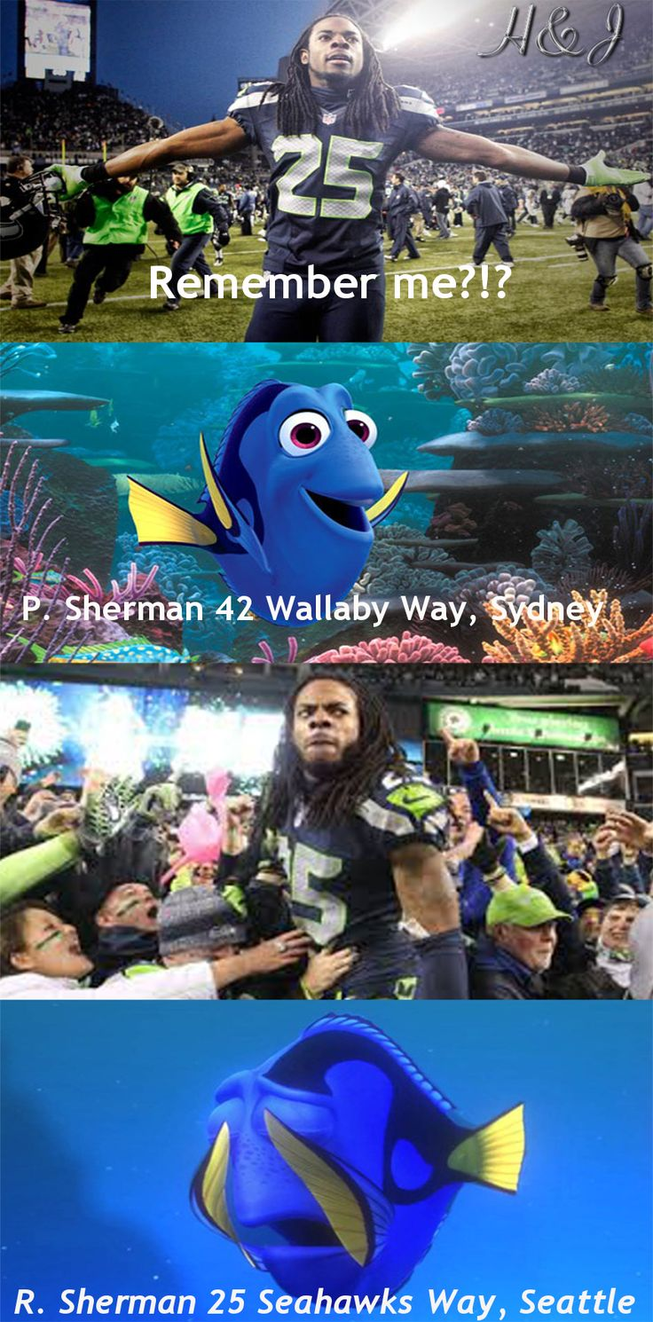Made my first meme! Go Seahawks!!! Sherman is a beast!