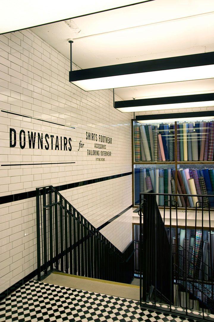 Ben Sherman flagship store by Brinkworth, London store design
