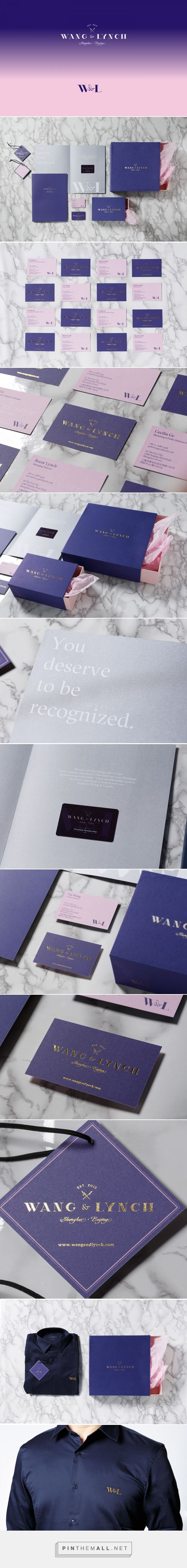 Wang & Lynch Branding and Packaging by Frames | Fivestar Branding Agency – Design and Branding Agency & Curated Inspiration Gallery