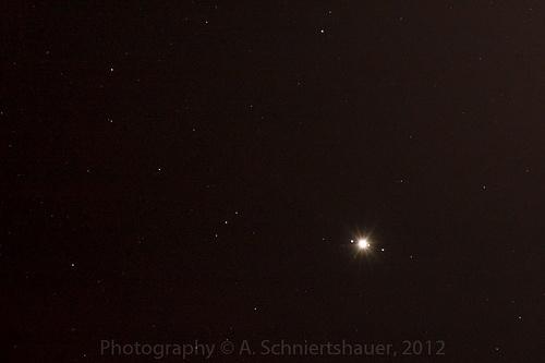 Jupiter with Callisto, Europa and Ganymede