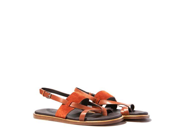Salvatore Ferragamo, leather sandals