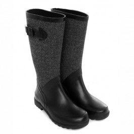 Nero Tweed Boots in Hunter Style | Designer Gumboots | Wellies | Rain Boots For Men, Women And Kids ($100-200) - Svpply
