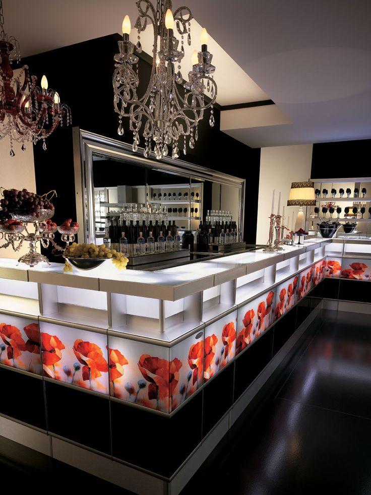 Strip designs by frigomeccanica Store front counters and Bar displays