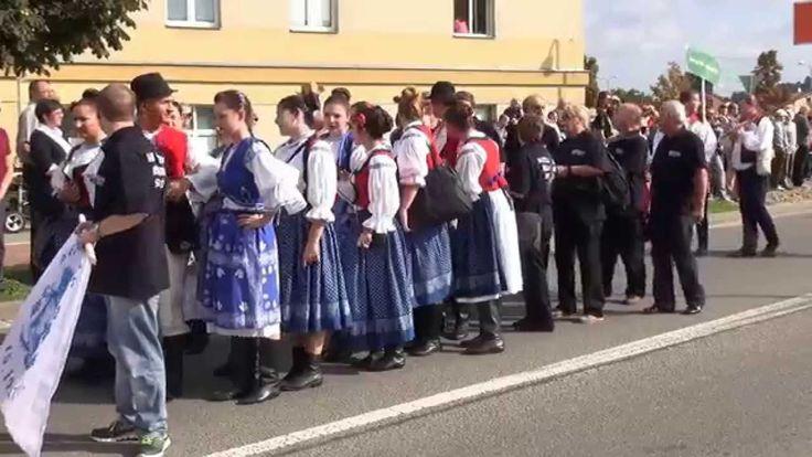 Slovácké slavnosti vína 2015 průvod