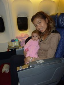 How to choose airline seats with twins riding on your lap
