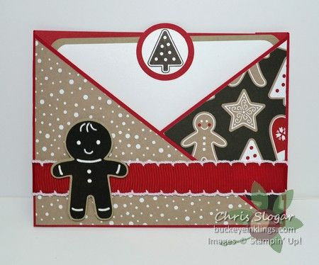 Triangle Flap Pocket Card
