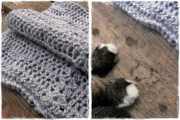 crochet shawl grey dust
