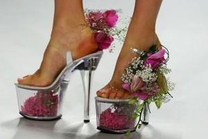 Туфли на высоком каблуке вредны