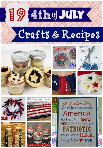 19 4th of July Crafts & Recipes - Roubinek Reality