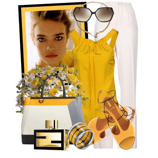 FENDI Toujours by gangdise on Polyvore