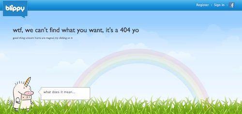 Blippy 404