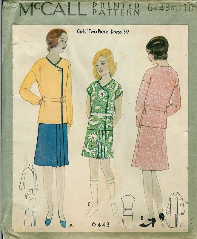 Fashion from 1920 to 1930