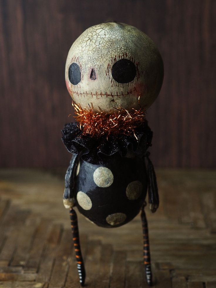 original halloween art doll by danita - Where Does The Halloween Celebration Come From