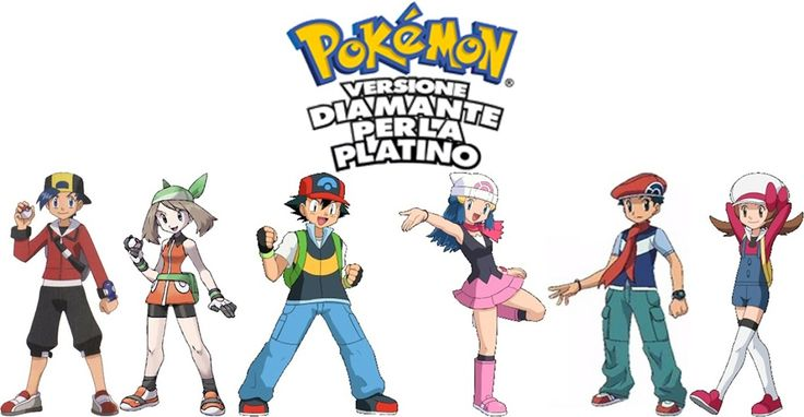 Pokèmon Diamante, Perla & Platino