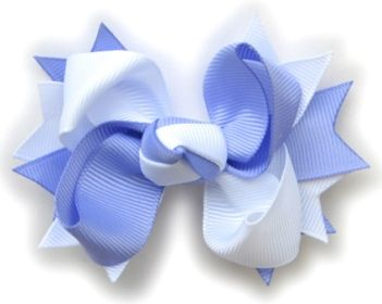 How To Make Boutique Hair Bow--3--Center Knot : Hip Girl Boutique LLC, Free Hairbow Instructions, Ribbons, Hair Bows and Clips, Hairbow Hard...