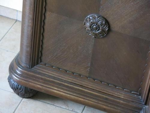 alte bufett schrank mit aufsatz wohnzimmer esszimmer in nordrhein westfalen salzkotten. Black Bedroom Furniture Sets. Home Design Ideas