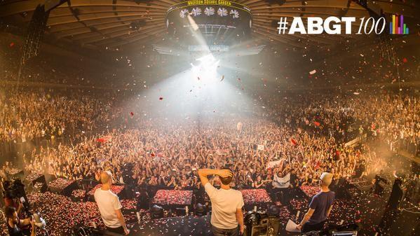 ABGT#100 at Madison Square Garden