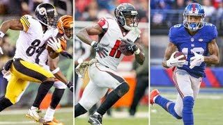 Fantasy Football 2016 Draft Rankings: Wide Receivers