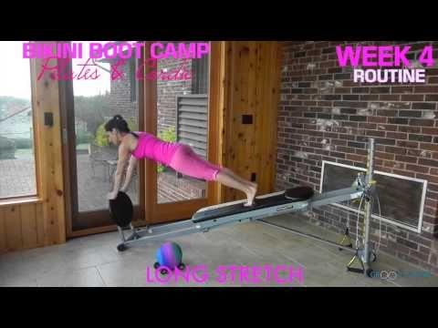 ▶ 5-Week Bikini Boot Camp: Week 4 - Total Gym Pulse - YouTube                                                                                                                                                                                 More