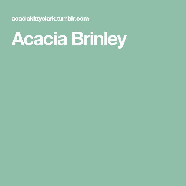 Acacia Brinley