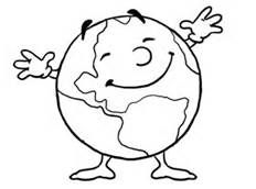 Earth day coloring page - Bing Images