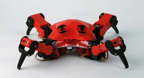 DIY walking robot which anyone can build with 3D printing technology