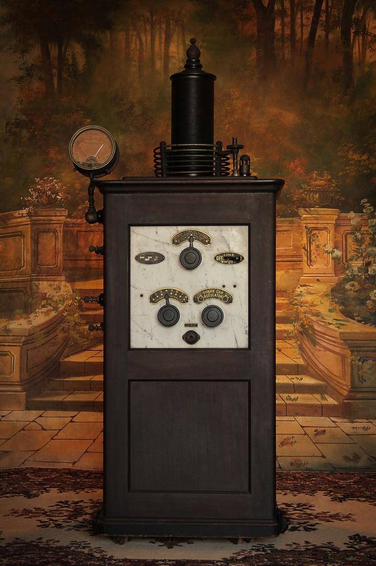 1920s Tesla Coil by McIntosh . Quack Medicine Machine ...
