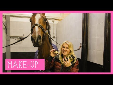 Paarden make-up | PaardenpraatTV - YouTube