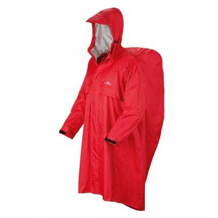 Αδιάβροχο Ferrino Trecker Κόκκινο S/M   www.lightgear.gr