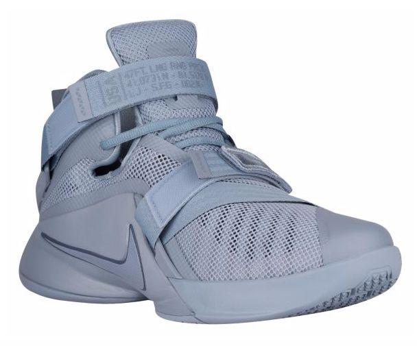 Lebron James Nike Zoom Soldier 9 Grey/Squadron Blue